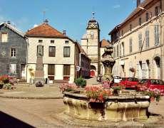 Fontaine du XVIIIe siècle à Faucogney-et-la-Mer