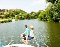 Tourisme fluvial sur la Saône