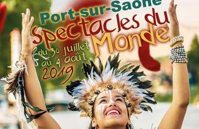 Port-sur-Saône : Spectacles du monde