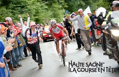 La Planche des Belles Filles : arrivée de la 6e étape du Tour de France