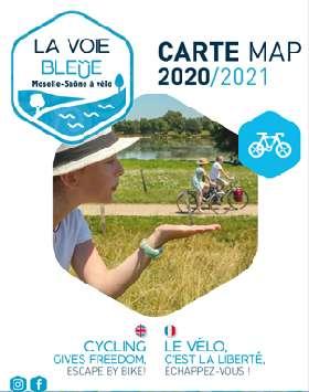Carte touristique La Voie Bleue©