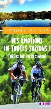 Carte touristique Vosges du sud