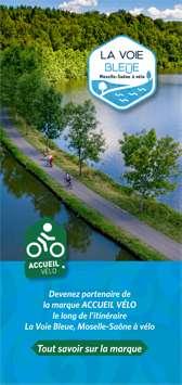 Devenez partenaire Accueil Vélo le long de La Voie Bleue
